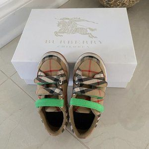 Burberry toddler sneakers shoes